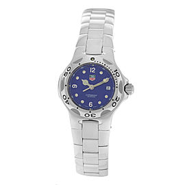 Authentic Ladies Tag Heuer Kirium WL1316 Steel 28MM Date Quartz Watch