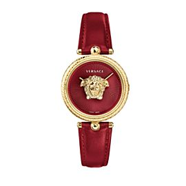 New Versace Palazzo Empire VCO120017 Gold Electroplated Steel Quartz 39MM Watch