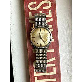 Vintage Bulova Manual Wind Patina Dial Watch