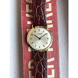 Vintage Longines Gold Capped Manual Wind w/ Original Box Watch