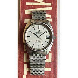 Vintage Omega Constellation Automatic Cushion Case w/ Bracelet Watch