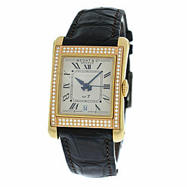 Ladies Bedat & Co No 7 Ref. 728 18K Yellow Gold Diamonds Automatic 25MM Watch