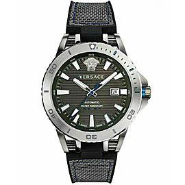 New Men's Versace Sport Tech Diver VERC00118 Steel Automatic 45MM Watch