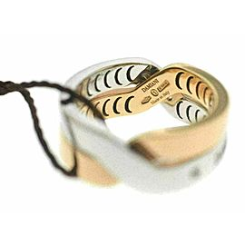 New Damiani Model: 20054661 18K White & Rose Gold Diamond Size 8.25 $2,988 Ring