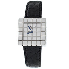 Ladies Chopard Ice Cube by De Grisogono 127407 Quartz 18K White Gold Watch