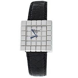 Ladies Chopard Ice Cube by De Grisogono 127407 Quartz 18K White Gold Watch