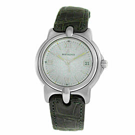 Men's Unisex Bertolucci Pulchra 123 41 Steel Date Quartz 36MM Watch