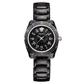 New Versace DV One 63QCS9D009 SC09 Ceramic Steel Diamond 36MM Quartz Watch