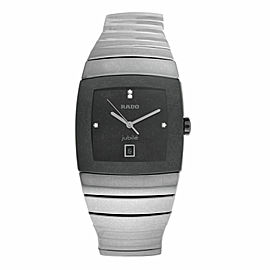 New Men's Rado Sintra R13778702 Ceramic 32MM Date Quartz $3,100 Watch