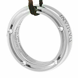 New Damiani Model: 20008581 18K White Gold Diamond Brad Pitt $1,968 Ring