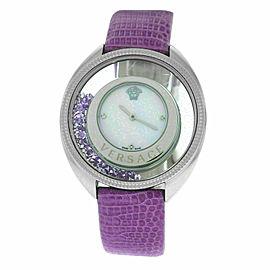 New Versace Destiny Spirit 86Q953MD497 S702 Floating Crystals 38MM Quartz Watch