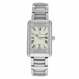 New Lady Maurice Lacroix Miros MI2023-SD532-11C Diamond $4700 Quartz Watch