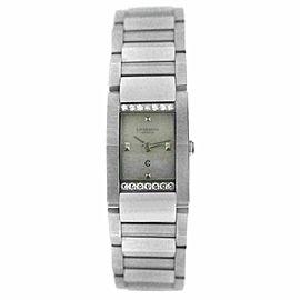 Ladies' Charriol Megeve MGVSD MOP Stainless Steel Diamond 19MM Quartz Watch