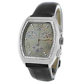 Ladies Van der Bauwede Magnum XS Cal 65 Ref. 15501 Diamond Steel Quartz Watch