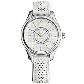 Ladies' Christian Dior VIII Montaigne CD152110A005 Diamond MOP 33MM Quartz Watch
