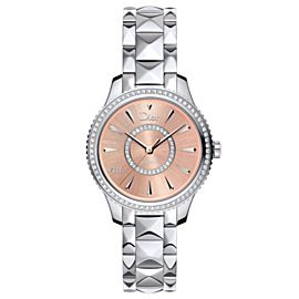 Ladies' Christian Dior VIII Montaigne CD152510M002 Diamond 33MM Automatic Watch