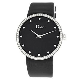 Ladies' Christian Dior La D de Dior CD043114A002 Steel Diamond 38MM Quartz Watch