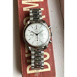 Omega Speedmaster Date Automatic Chronograph Polar White Dial w/ Bracelet