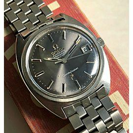 Vintage Omega Constellation Automatic Grey Dial w/ Original Bracelet Watch