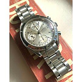 Omega Speedmaster 3523.30.00 Triple Calendar Automatic Silver Dial Watch