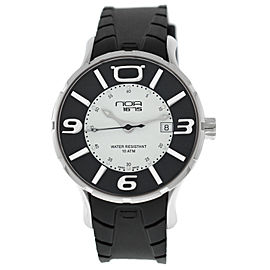 NOA 16.75 IRIS Unisex Stainless Steel Date Quartz 41MM Watch