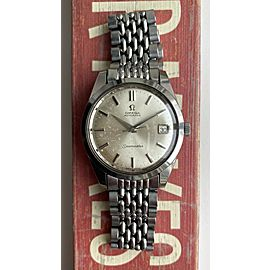 Vintage Omega Seamaster Automatic Silver Dial Steel Case w/ BOR Bracelet Watch