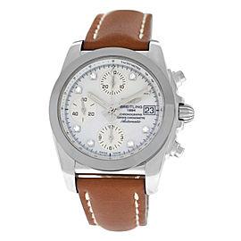 Breitling Chronomat W1331012/A776-425X Diamond 38MM Tungsten Chronometer MOP
