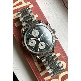 Omega Speedmaster Reduced Automatic Chronograph Panda Dial w/ Bracelet Watch