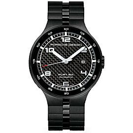 Porsche Design Flat Six P6350 6350.43.04.0275 Carbon Automatic Men's 44MM Watch
