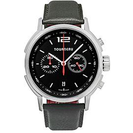 Tourneau TNY Chronograph TNY440301001 Men's Stainless Steel 44MM Automatic Watch