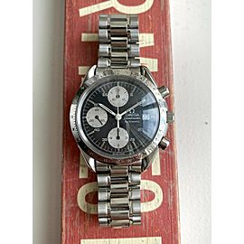 Omega Speedmaster Chronograph Reduced 3511.50 Automatic Black Dial Steel Watch