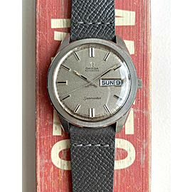 Vintage Omega Seamaster Jumbo 166.032 Automatic Daydate Textured Dial Watch
