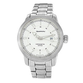 Tourneau Pacific Concepts Sport 53288-4B Chronometer Quartz 44MM Steel Watch