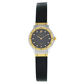 Hublot MDM Geneve Classic 1280.2 Diamond Yellow Gold Steel Quartz 25MM Watch