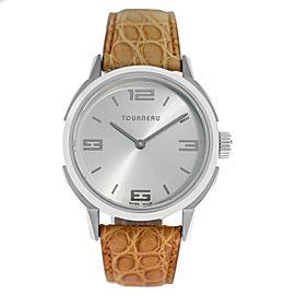 Tourneau TNY Roventa TNY350701006 Unisex Stainless Steel 35MM Quartz Watch