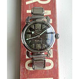 Vintage Enicar Healthways Super Seapearl Watch Compressor Tropical Dial Watch