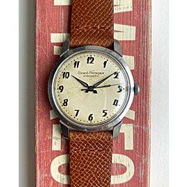 Vintage Girard Perregaux Gyromatic Automatic Cream Dial Arabic Numerals Watch