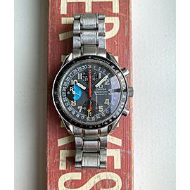 Omega Speedmaster MK40 Automatic Triple Calendar Chronograph Gray Dial Watch