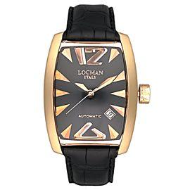 Locman Panorama REF. 152 18K Rose Gold ETA 2824-2 Men's Automatic Watch