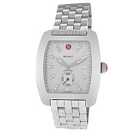 Michele Diamond MW02T00A0942 Ladies Stainless Steel 36MM Quartz Watch