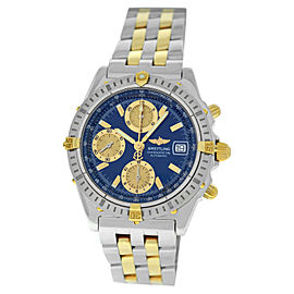 Breitling Chronomat B13352 Steel 18K Gold Date Automatic 39MM Complete Watch