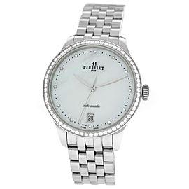 Perrelet First Class Lady A2070/7 Diamond MOP Steel Automatic 35MM Watch