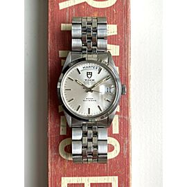 Tudor Oyster Prince Date Day Ref 94500 Automatic Silver Dial Quickset Watch
