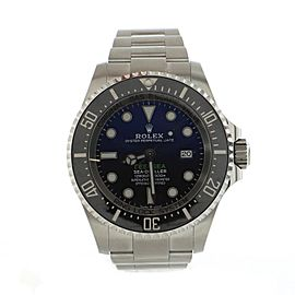 Rolex Oyster Perpetual Deepsea Sea-Dweller Automatic Watch Stainless Steel and Cerachrom 44