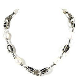 John Hardy Jaisalmer Sterling Silver Pearl Necklace