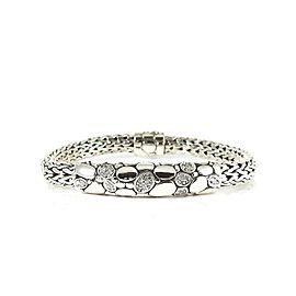 John Hardy Kali Sterling Silver Diamond Bracelet