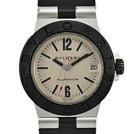 BVLGARI aluminum AL32TA Silver Dial Quartz Boy's Watch