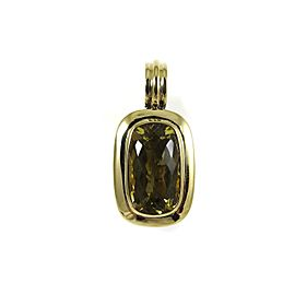 David Yurman Albion Sterling Silver Lemon Citrine Pendant