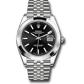 Rolex Oyster Perpetual Datejust 126300 BKIJ Stainless Steel 41mm Mens Watch