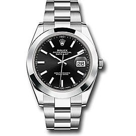 Rolex Oyster Perpetual Datejust 126300 bkio Stainless Steel 41mm Mens Watch